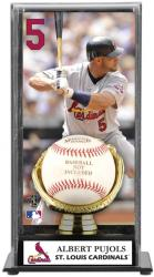 Albert Pujols St. Louis Cardinals Baseball Display Case with Gold Glove & Plate - Mounted Memories
