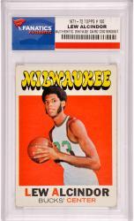 Lew Alcindor Milwaukee Bucks 1971-1972 Topps #100 Card