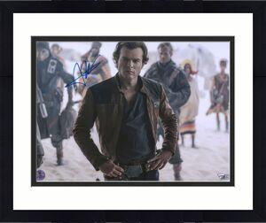 "Alden Ehrenreich Star Wars Solo Autographed 11"" x 14"" Photograph - Alden Hologram"