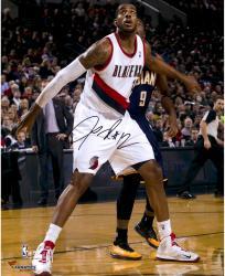 """LaMarcus Aldridge Portland Trail Blazers Autographed 16"""" x 20"""" Box Out Photograph"""