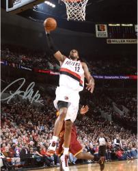 """LaMarcus Aldridge Portland Trail Blazers Autographed 8"""" x 10"""" vs. Cleveland Cavaliers Photograph"""