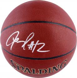LaMarcus Aldridge Portland Trail Blazers Autographed Spalding Indoor Outdoor Basketball - Mounted Memories