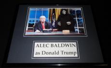 Alec Baldwin as Donald Trump Framed 11x14 Photo Display