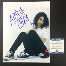 Alessia Cara Signed Autographed Know-it-all 'sexy' 8x10 Photo Bas Coa Beckett 1