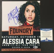 Alessia Cara Signed Autographed Know-it-all 'sexy' 8x10 Photo Bas Coa Beckett 4