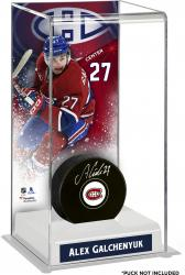 Alex Galchenyuk Montreal Canadiens Deluxe Tall Hockey Puck Case