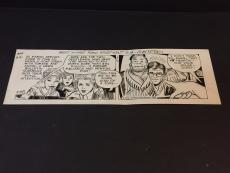 Alex Kotzky Apartment 3-G Rare Signed Autograph Original 1986 Comic Strip