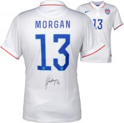 Alex Morgan Team USA Autographed White USA Jersey
