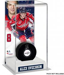 Alex Ovechkin Washington Capitals Deluxe Tall Hockey Puck Case