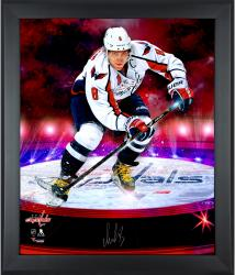 "Alex Ovechkin Washington Capitals Framed Autographed 20"" x 24"" In Focus Photograph - #2-7, 9-25 of a Limited Edition of 25"