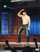 Alex Pettyfer Magic Mike Signed 11X14 Photo PSA/DNA #S37893