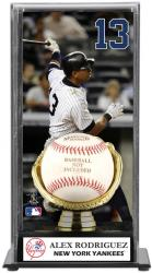 Alex Rodriguez New York Yankees Baseball Display Case with Gold Glove & Plate