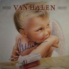 Alex Van Halen 1984 Autographed Signed Album LP Record Certified PSA/DNA COA