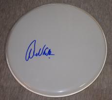 Alex Van Halen Signed Autographed Drumhead Drum Head Van Halen Drummer Flawless