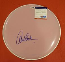 Alex Van Halen Signed Autographed Drumhead VAN HALEN Drummer PSA DNA COA