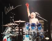 ALEX VAN HALEN (Van Halen) signed 11x14 photo-PERFECT Signature- JSA N029017