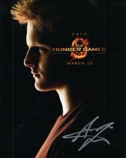 ALEXANDER LUDWIG HAND SIGNED 8x10 PHOTO+COA      HANDSOME+VERY SEXY ACTOR