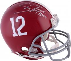 Shaun Alexander Alabama Crimson Tide Autographed Riddell Pro-Line Helmet