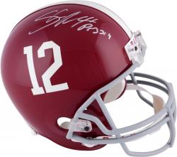Fanatics Authentic Autographed Shaun Alexander Alabama Crimson Tide Riddell Replica Helmet