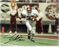 Shaun Alexander Alabama Crimson Tide Autographed 8'' x 10'' Photograph - Mounted Memories