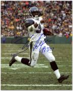 """Shaun Alexander Seattle Seahawks Autographed 8"""" x 10"""" Pointing at Crowd Photograph"""
