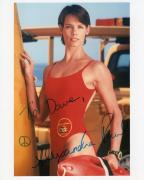 ALEXANDRA PAUL HAND SIGNED 8x10 COLOR PHOTO+COA     SEXY BAYWATCH STAR   TO DAVE