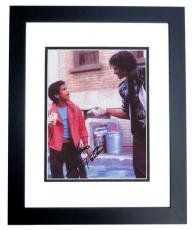 Alfonso Ribeiro Autographed 8x10 Photo  from Michael Jackson Pepsi commercial BLACK CUSTOM FRAME
