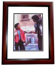 Alfonso Ribeiro Autographed 8x10 Photo from Michael Jackson Pepsi commercial MAHOGANY CUSTOM FRAME