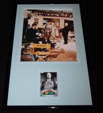 Alfred Hitchcock 11x17 Framed ORIGINAL Topps Card & The Birds Photo Display