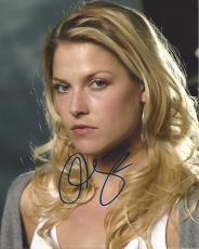 "ALI LARTER as TRACY STRAUSS on TV Series ""HEROES"" Signed 8x10 Color Photo"