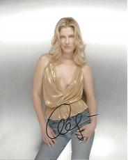 "ALI LARTER - Best Known for her Dual Roles of NIKI SANDERS and TRACY STRAUSS on ""HEROES"" Signed 8x10 Color Photo"