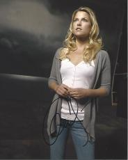 """ALI LARTER - Best Known for her Dual Roles of NIKI SANDERS and TRACY STRAUSS on """"HEROES"""" Signed 8x10 Color Photo"""