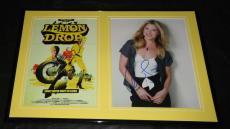Ali Larter SEXY Signed Framed Lemon Drop 12x18 Photo Set
