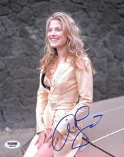 Ali Larter Signed Authentic Autographed 8x10 Photo (PSA/DNA) #H88537