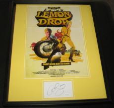 Ali Larter Signed Framed 16x20 Photo Poster Display JSA Lemon Drop Heroes