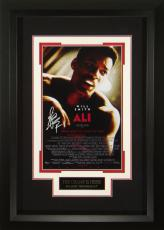Ali - Will Smith Autographed 11x17 Framed Poster