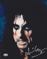 Alice Cooper Autographed 8x10 Photo