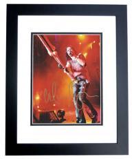 Alice Cooper Autographed Concert 8x10 Photo BLACK CUSTOM FRAME