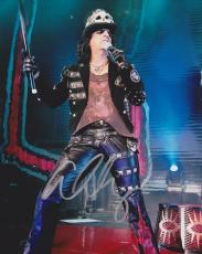 Alice Cooper Autographed Concert 8x10 Photo