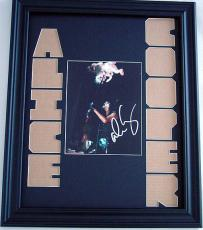 ALICE COOPER Autographed CUSTOM MATTED RARE Photo Display