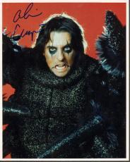 Alice Cooper Autographed Signed Black Wings Photo UACC RD COA