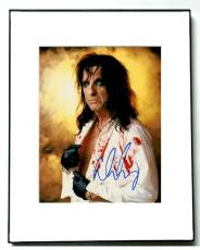Alice Cooper Autographed Signed Bloodied 8x10 Photo