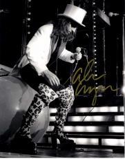 Alice Cooper Autographed Signed Concert B/W 11x14 Photo UACC RD COA AFTAL