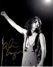 Alice Cooper Autographed Signed Leotard 11x14 Photo UACC RD COA AFTAL
