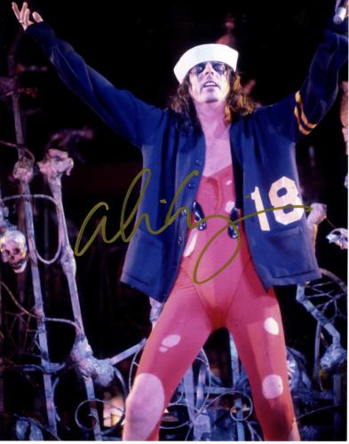 Alice Cooper Autographed Signed Sailors Hat 11x14 Photo UACC RD COA AFTAL