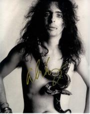 Alice Cooper Autographed Signed Snake Neck 11x14 Photo UACC RD COA AFTAL