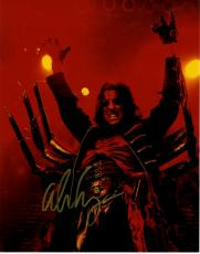 Alice Cooper Autographed Signed Spider Costume 11x14 Photo UACC RD COA AFTAL