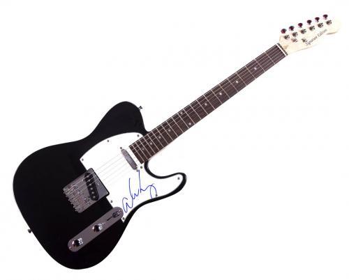 Alice Cooper Autographed Signed Tele Guitar Uacc Rd Coa AFTAL
