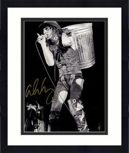 Alice Cooper Autographed Signed Trash Can 11x14 Photo UACC RD COA AFTAL