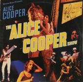 Alice Cooper Autographed The Alice Cooper Show Album Cover - PSA/DNA COA